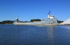 Fianl Approach (GLC 392) Tags: haven st michigan cement grand marys challenger ferrysburg verplanks
