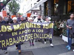 LA MANIFESTACIÓN CAMINO SOL POR LA ACERA 19O#280 (Jül2001) Tags: protest protesta revolución manifestaciones protestas mareas spanishrevolution 15mayo movimientossociales luchasocial indignados democraciarealya acampadasol movimiento15m