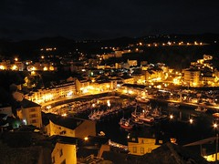 Luarca por la noche (Autor: Samu desde Alpedrete)