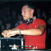 Tiësto mixing at The Love from Above party, the night after Love Parade 2003, in Columbiahalle, Berlin