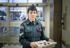 a stranger_remembrance (Fine Detail Films) Tags: portrait zeiss 35mm canon raw stranger canadian jena 7d poppy m42 ddr flektogon manual remembranceday cadet f24