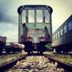 IMG_20131113_134845 (Francesco Carta) Tags: railroad train empty samsung nopeople s3 obsolete vagon railroadtrack