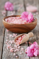 Pink salt and flowers (Oxana Denezhkina) Tags: wood pink sea flower nature beauty bathroom shower wooden spring soap bath natural body background salt lifestyle objects nobody bowl resort exotic health massage salon products therapy chic care relaxation aromatic spa healthcare luxury scrub hygiene cosmetic aroma treatment aromatherapy