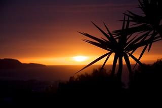 Sunrise over Nerja on the Costa del Sol