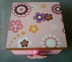 Caixa em MDF com Divisória (Caldeirão do Artesanato) Tags: caixa mdf portatreco decoupagem artesanatoemmdf caixamultiuso caixacomdivisória decoupagemcomguardanapo artesanatocomdecoupagem