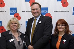 "Stephen Mosley MP meets the Cheshire Royal British Legion team Gillian McKinnon and Mandy Sutton • <a style=""font-size:0.8em;"" href=""http://www.flickr.com/photos/51035458@N07/11065331745/"" target=""_blank"">View on Flickr</a>"