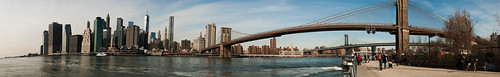 Manhattan and the Brooklyn Bridge