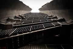 DSC_5394 (Arsee13) Tags: urban architecture modern stairs fire nikon escape serbia symmetry staircase urbano belgrade beograd srbija safty sefty stepenice stepenite simetrija sigurnost flickrbronzetrophygroup d3100 vision:text=055 vision:sunset=0556 vision:sky=0752 vision:outdoor=0769 poarne