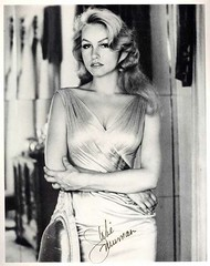 Julie Newmar, autographed photo (Colorized by TOSHIO.Y) Tags: julienewmar