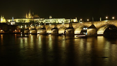 Prague Castle & Cathedral by night (GillWilson) Tags: