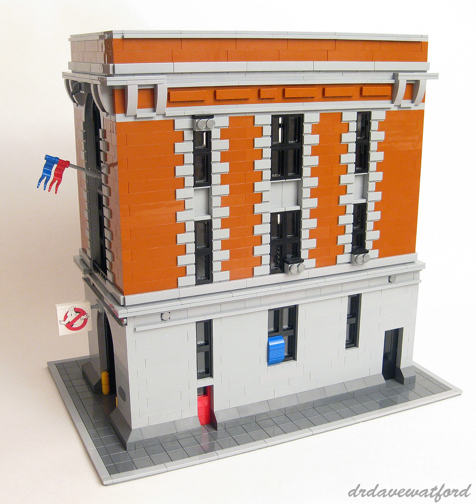 lego ghostbusters hq instructions