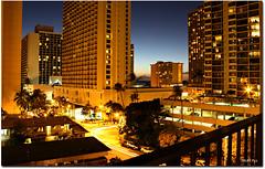 Aston Waikiki Sunset - No.1 ('Mick's Pics') Tags: sunset vacation night hotel nightlights waikiki honolulu waikikisunset waikikinight astonwaikikisunset