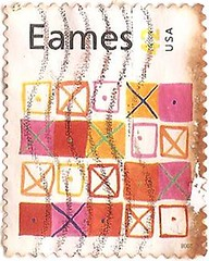 USA Stamp commemorating Eames (sftrajan) Tags: usa art design stamp eames timbre postagestamp philately sello filatelia briefmarke  francobollo sellopostal  timbrepostal selopostal
