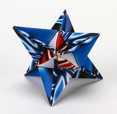 Origami création - Didier Boursin - Astre