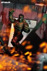 Hulk (Toy Photography Addict) Tags: toys actionfigures hulk marvel diorama incrediblehulk marveluniverse avenger theavengers toyphotography marvelselect toydiorama clarkent78 jeffquillope toyphotographyaddict marveldiorama