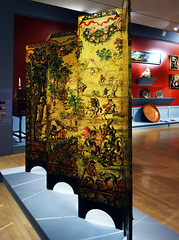 Brooklyn Biombo: Folding Screen with the Siege of Belgrade and Hunting Scene, c. 1697-1701