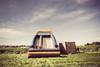 Summer bounce (LukeOlsen) Tags: usa grass oregon portland farm air cargo inflatable bounce bouncehouse cargocontainer lukeolsen