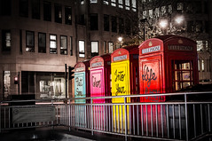 Put Some Colour Into Your Life (Pixel_Runner) Tags: uk england london art europe unitedkingdom object places subject charingcross installationart phonebox