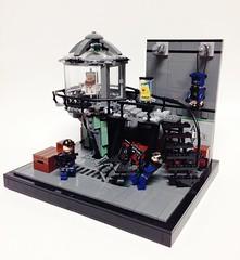 batman vs mr freeze lego instructions