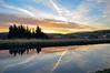 DSC_0008 - Same, but different... (SWJuk) Tags: uk england home yellow clouds sunrise reflections canal still nikon bluesky calm lancashire towpath burnley 2014 leedsliverpoolcanal d90 cliviger nikond90 clivigergorge burnleywood swjuk mygearandme jan2014