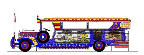 Pinoy Jeepney Art A Photo On Flickriver