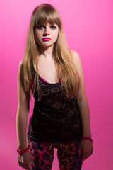 ANA BY @CYLG (3 of 4) (Claudia__LG) Tags: ana mujer df blanca 40s 2014 cabellolargo rusa eaf rockera fondorosa trimestreiv cabellogüero estudioactiva