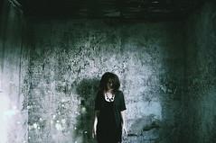 (emmakatka) Tags: light portrait house motion abandoned girl wall self decay northdakota derelict abandonment emmakatka