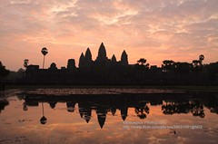 Siem Reap, Angkor Wat, sunrise (blauepics) Tags: world reflection heritage water silhouette stone architecture sunrise temple site cambodia kambodscha wasser khmer capital hauptstadt religion buddhism unesco empire architektur angkor wat hinduism stein sonnenaufgang reich reflektion tempel weltkulturerbe buddhismus hinduismus