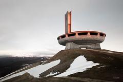 Bulgaria - Buzludzha (sadaiche (Peter Franc)) Tags: party abandoned monument concrete pass structure communist h bulgaria soviet hq monumental shipka balkan urbex spomenik buzludzha buzludja