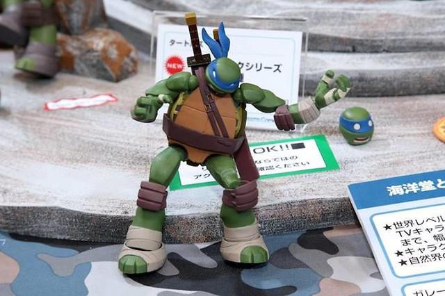 海洋堂 REVOLTECH 輪轉可動 忍者龜