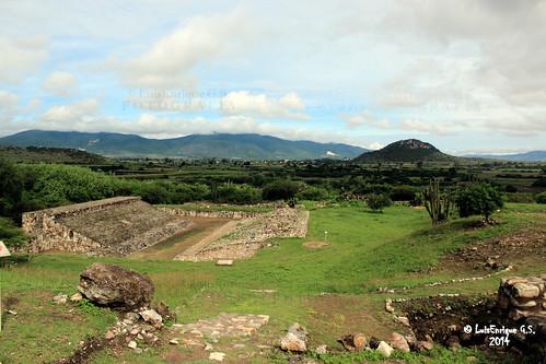Zona Arqueológica Dainzú - Oaxaca - México