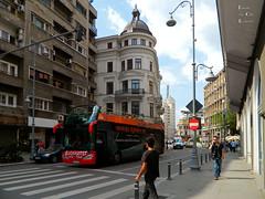 Victory Road, Bucharest (Classic Bucharest) Tags: street people architecture strada pedestrian streetscene scene romania pedestrians scena streetscape bucuresti piata calea victoriei oameni bulevardul arhitectura trecatori stradala
