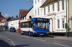 Stagecoach Midlands 34499 (Lotsapix) Tags: buses pointer dennis dart warwickshire stagecoach midlands plaxton southam 34499