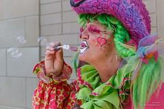 ajbaxter140712-0056 (Calgary Stampede Images) Tags: canada calgary volunteers alberta clowns calgarystampede 2014 dta ropesquare ajbaxter downtownattractionscommittee