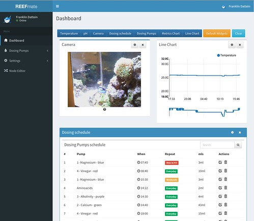 "REEFmate Dashboard • <a style=""font-size:0.8em;"" href=""http://www.flickr.com/photos/51035769981@N01/18885883581/"" target=""_blank"">View on Flickr</a>"