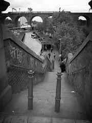 Stockport - Wellington Steps (velton) Tags: aviary metropolis ls lowry match stick men cats dogs