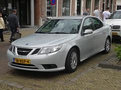 2009 Saab 9-3 (harry_nl) Tags: netherlands nederland 2016 gorinchem saab 93 58hsp4 sidecode7