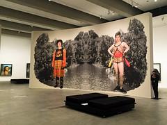 Cindy Sherman 1 (NettyA) Tags: 2016 appleiphone6 australia brisbane cindysherman goma qld queensland art exhibition photography southbrisbane au