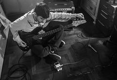 Chords (facundoroca) Tags: chords acordes bajo bass blanco negro black white bn bw tone tono me autorretrato music cordoba argentina nikon d5100