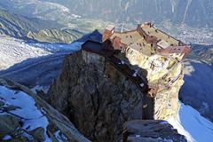 Overwhelming shadow (flurryofsmoke) Tags: shadow mountain aiguilledumidi summit chamonix montblanc alps france