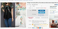 Chinese Fake Mexican Blouses (Teyacapan) Tags: fakemexicanblouses fakes chinese china mexican clothing blusas