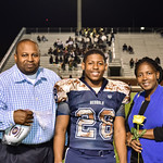 BHS Football, Cheer, & Band Senior Night 10/28/16