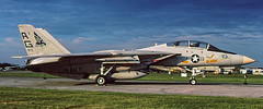 F-14A Tomcat VF-143 Pukin Dogs (yvesff) Tags: f14a vf43 tomcat