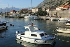 Luka Kotor, Crna Gora (Montenegro) (nikolaylozanov8006) Tags: outdoor boat water waterfront vehicle kotor crna gora montenegro boka kotorska luka bay jadran adriatic