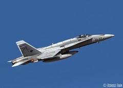 SPAIN AIR FORCE. McDonnell Douglas F-18. Ala 46 (Rodrigo Tran Corts) Tags: f18 ala46 zaragoza spain army spotting
