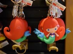 Disneyland Visit 2016-11-06 - Downtown Disney - World of Disney - Merchandise - Cutie Keychains - Ariel (drj1828) Tags: us disneyland dlr visit 2016 downtowndisney worldofdisney merchandise
