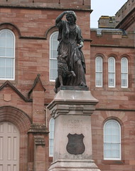 flora_macdonald_statue (odysseus62) Tags: inverness cathedral riverness highlands greatglen scotland autumn november 2016