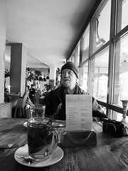 Tea time (streamer020nl) Tags: llh louiselh amsterdam 2016 111016 11oct16 holland nl nederland netherlands niederlande paysbas badhuis caf restaurant horeca ed interieur interior tea thee tee muntthee mint camera canon