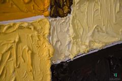 Dettagli pittorici (Elisa.95) Tags: details color orange yellow ocra artist art painting macro nikon italy d7000