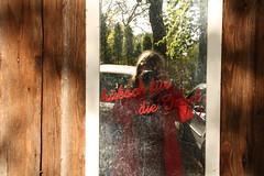 Na klar! (im_fluss) Tags: gstadt chiemsee parkplatz spiegel mirror selfie